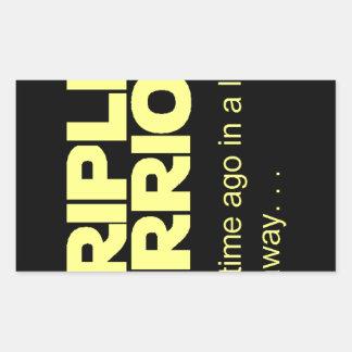 Stripling Warriors Rectangular Sticker
