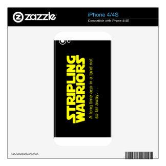Stripling Warriors Skins For iPhone 4S