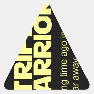 Stripling Warriors Triangle Sticker