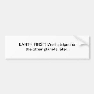 Stripmine Car Bumper Sticker