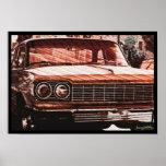 Stripped Chevy Print