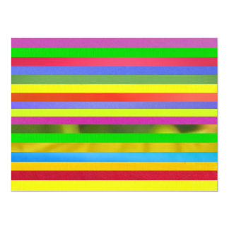 Strips In Colors Card