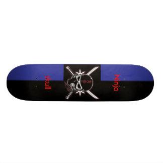strips, ninja skull, Ninjaskull Skateboard