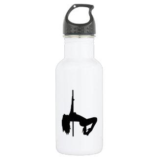 Striptease girl stainless steel water bottle