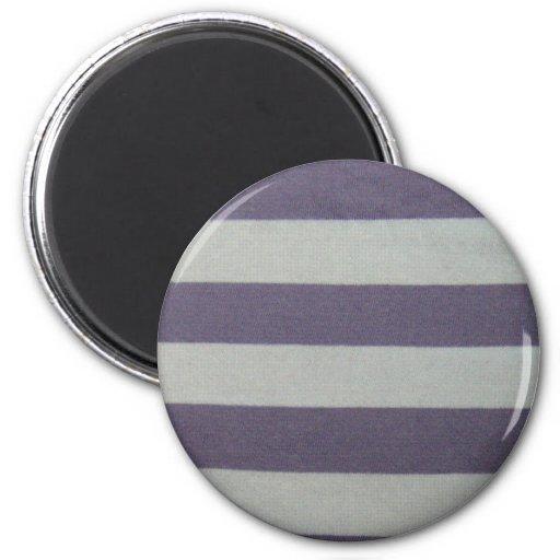 Stripy! 2 Inch Round Magnet