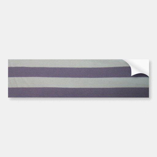 Stripy! Bumper Sticker