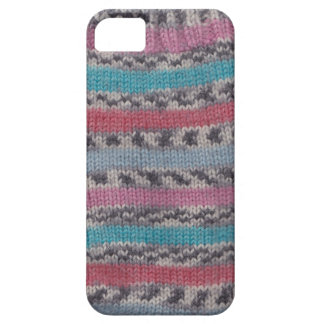 Stripy knitted sock for iPhone iPhone 5 Cases