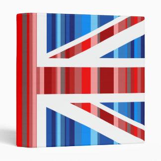 Stripy UK Vinyl Binder