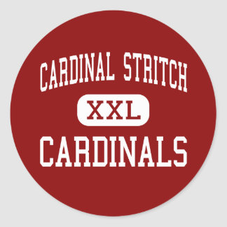 Stritch cardinal - cardenales - alto - Oregon Ohio Pegatina
