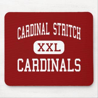 Stritch cardinal - cardenales - alto - Oregon Ohio Tapete De Ratón