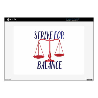 Strive For Balance Laptop Decal