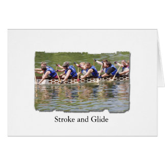Stroke and Glide Card