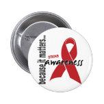 Stroke Awareness 2 Inch Round Button