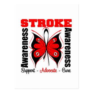Stroke Awareness Butterfly Postcard