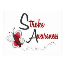 Stroke Awareness BUTTERFLY SERIES 2 Postcard