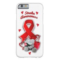 Stroke awareness cell case