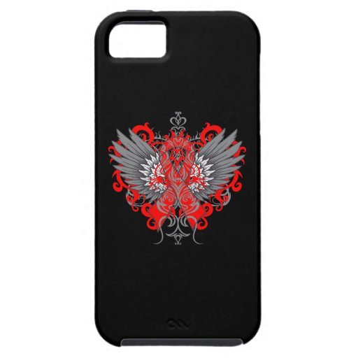 Stroke Awareness Cool Wings iPhone 5 Cases