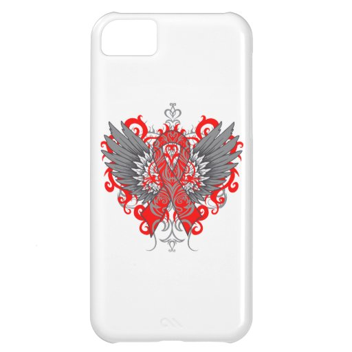 Stroke Awareness Cool Wings iPhone 5C Case