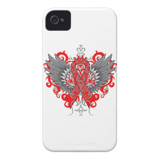 Stroke Awareness Cool Wings iPhone 4 Covers