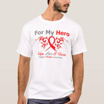 Stroke Awareness For My Hero Hope Love FaithTribal T-Shirt