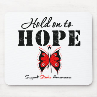 Stroke Awareness Hold On To Hope Mouse Pad