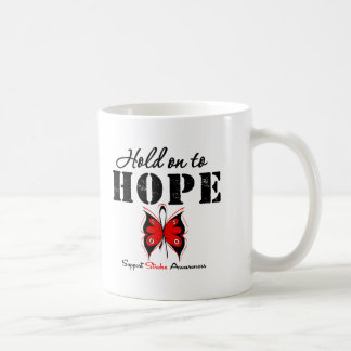 Stroke Awareness Hold On To Hope Coffee Mugs