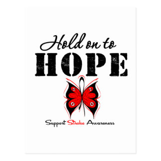 Stroke Awareness Hold On To Hope Post Card