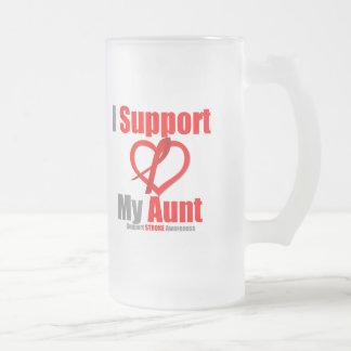 Stroke Awareness I Support My Aunt Mug