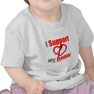Stroke Awareness I Support My Daddy T Shirts