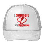 Stroke Awareness I Support My Husband Hat