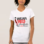 Stroke Awareness I Wear Red Ribbon For Grandfather Shirts