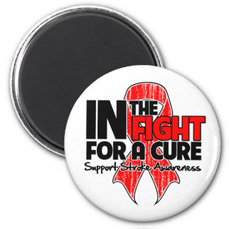 Stroke Awareness In The Fight For a Cure Refrigerator Magnets