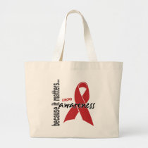 Stroke Awareness Large Tote Bag