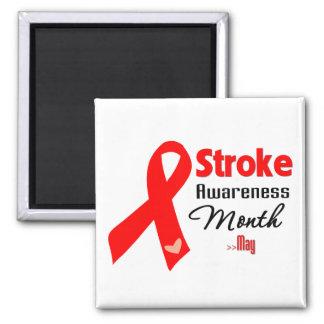 Stroke Awareness Month Fridge Magnet
