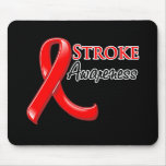 Stroke Awareness Ribbon Mouse Pad