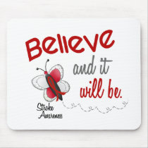 Stroke Believe BUTTERFLY SERIES 2 Mouse Pad