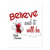 Stroke Believe BUTTERFLY SERIES 2 Postcard