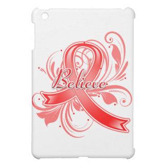 Stroke Believe Flourish Ribbon Case For The iPad Mini