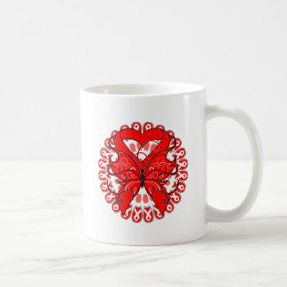 Stroke Disease Butterfly Circle of Ribbons Mug