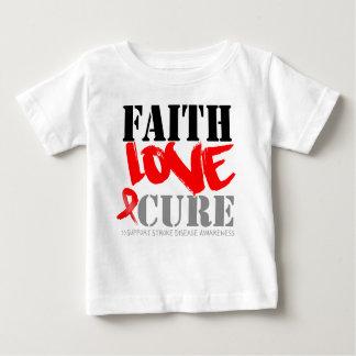 Stroke Disease Faith Love Cure Tee Shirts