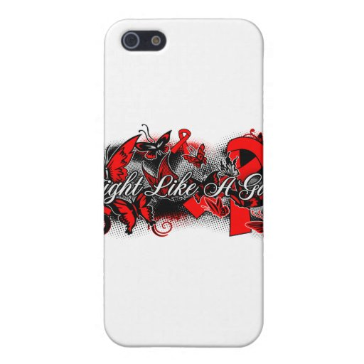 Stroke Disease Fight Like A Girl Grunge Butterfly iPhone 5 Cover