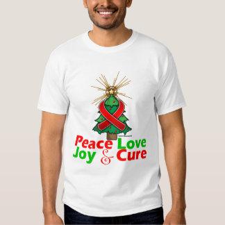 Stroke Disease Peace Love Joy Cure T-shirts