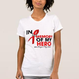 Stroke Disease Tribute In Memory of My Hero T-shirt