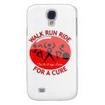 Stroke Disease Walk Run Ride For A Cure Galaxy S4 Covers