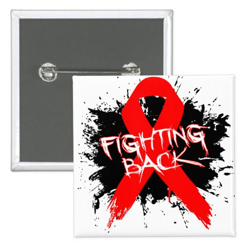 Stroke - Fighting Back Pinback Buttons