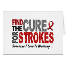 Stroke FIND THE CURE 1 Card