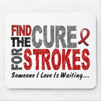 Stroke FIND THE CURE 1 Mouse Mats