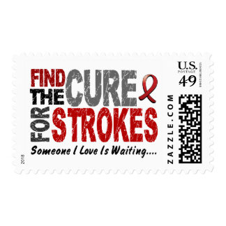Stroke FIND THE CURE 1 Stamps