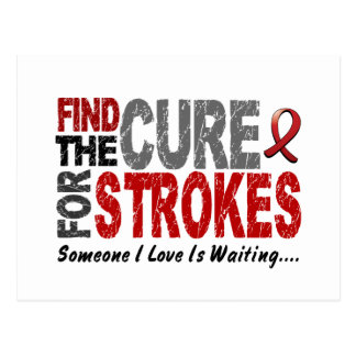 Stroke FIND THE CURE 1 Post Card