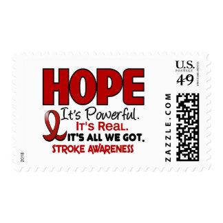 Stroke HOPE 1 Postage Stamp
